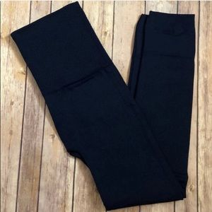 Navy Blue Fleece Lined Leggings Fits sizes: 12-20